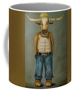Bull Denim Coffee Mug