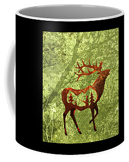 Coffee Mug featuring the photograph Bull Elk by Larry Campbell