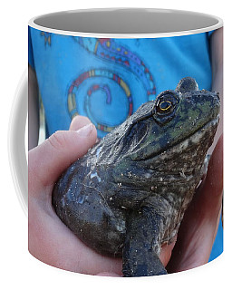 Coffee Mug featuring the photograph Bull  by Eric Dee