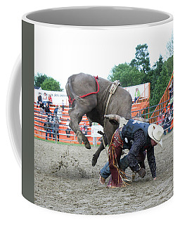 Bull Riding Action Coffee Mug