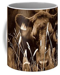 Bull - Sepia Brown Black Angus Coffee Mug