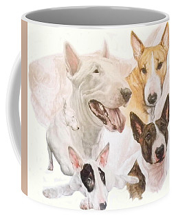 Bull Terrier Medley Coffee Mug