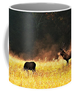 Bull With His Girl Coffee Mug