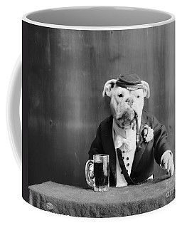 Coffee Mug featuring the photograph Bulldog, C1905 by Granger