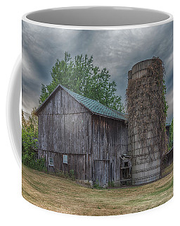 Bullis Road Barn Coffee Mug by Guy Whiteley