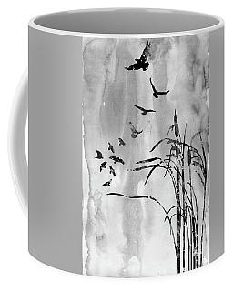 Bulrush-black Coffee Mug