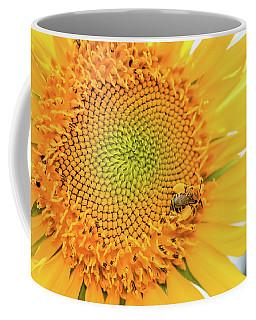 Bumble Bee With Pollen Sacs Coffee Mug