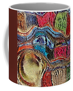 Bumps In The Road Coffee Mug by Kathie Chicoine