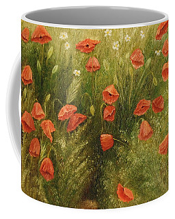 Bunch Of Poppies Coffee Mug