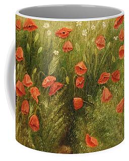 Bunch Of Poppies Coffee Mug