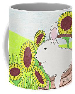 Bunny In A Basket Coffee Mug