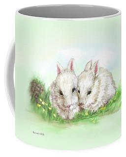 Bunny Love In Color Coffee Mug
