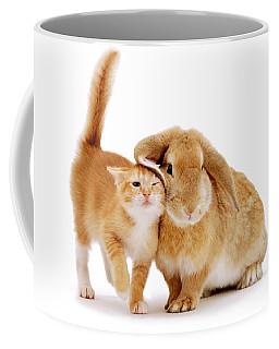 Bunny Rubbing Coffee Mug
