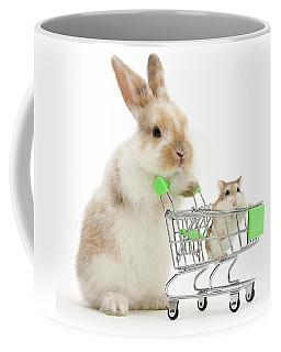 Bunny Shopping Coffee Mug