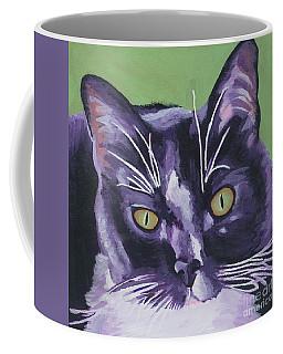 Tuxedo Black And White Cat Coffee Mug
