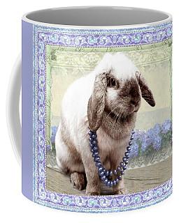 Bunny Wears Beads Coffee Mug