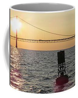Buoy And Bridge Coffee Mug