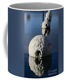 Coffee Mug featuring the photograph Buoy In Detail by Stephen Mitchell