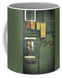 Burano - Green House Coffee Mug