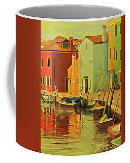 Burano, Italy - Study Coffee Mug