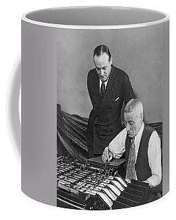Bureau Check Signing Machine Coffee Mug