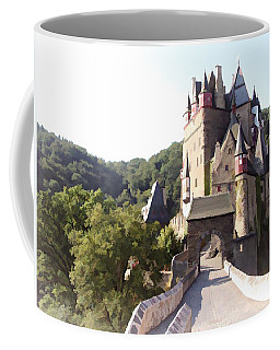 Burg Eltz. The Gate - Watercolor Coffee Mug