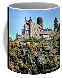 Burg Katz - Rhine Gorge Coffee Mug by Jim Hill