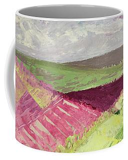 Burgundy Fields Coffee Mug