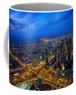 Burj Khalifa View Coffee Mug