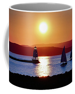Burlington Breakwater Sunset Coffee Mug