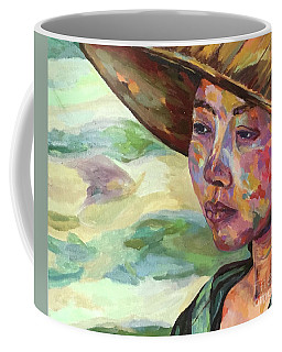 Burma Farm Girl Coffee Mug by Michael Cinnamond