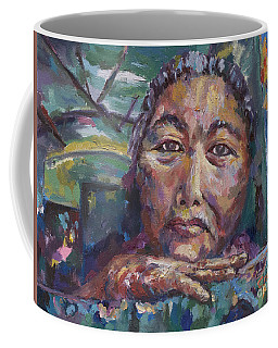 Burma Wisdom On The Train Coffee Mug