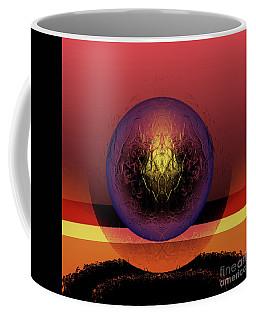 Burn Coffee Mug by John Krakora