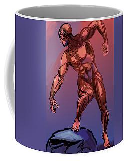 Burne Hogarth Anatomical Man Coffee Mug