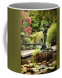 Burnett Fountain Garden Coffee Mug