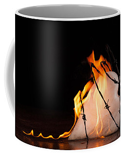 Burning Love Coffee Mug by Yvette Van Teeffelen