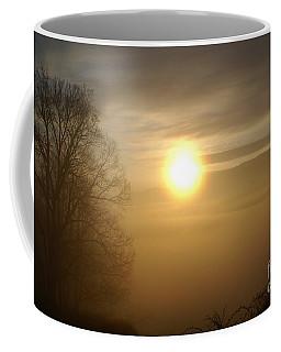 Burning Off The Fog Coffee Mug
