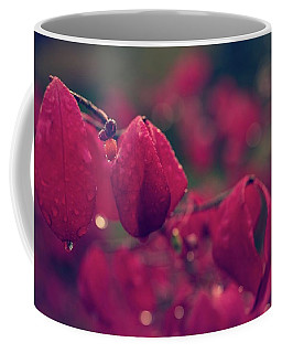 Burning Red Coffee Mug