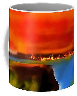 Burning Shore Coffee Mug