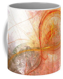Burning Treble Clef Coffee Mug