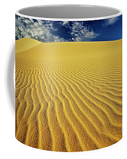 Burning Up At The White Sand Dunes - Mui Ne, Vietnam, Southeast Asia Coffee Mug
