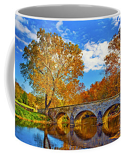 Burnside Bridge At Antietam Coffee Mug