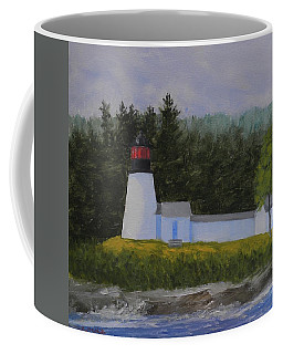 Burnt Island Light Coffee Mug