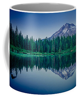 Burnt Lake Reflection Coffee Mug