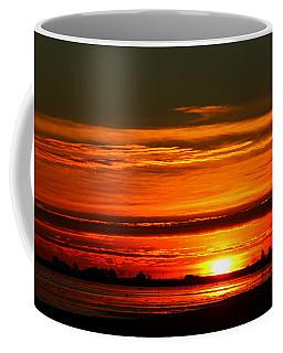 Burnt Orange Sunrise Coffee Mug