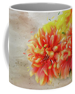 Coffee Mug featuring the photograph Burst Of Autumn by Mary Timman