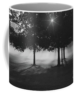 Coffee Mug featuring the photograph Burst Of Morning Sun by Rachel Cohen