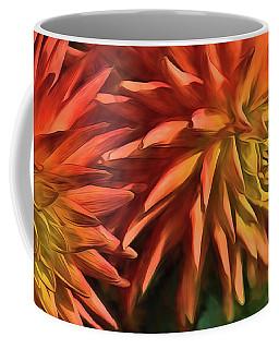 Bursting With Color Coffee Mug by Mary Lou Chmura