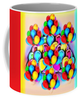 Bursting With Colors Coffee Mug