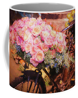 Bursting With Flowers Coffee Mug